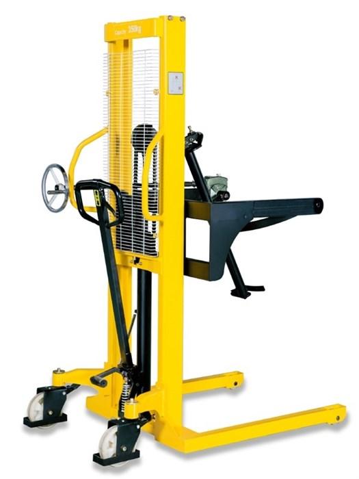 Штабелер-бочкокантователь ручной гидравлический TOR 500 кг 2000 мм WDS500-2000 - фото 65579