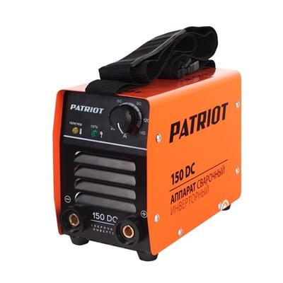 Аппарат сварочный инверторный PATRIOT 150DC MMA - фото 74025