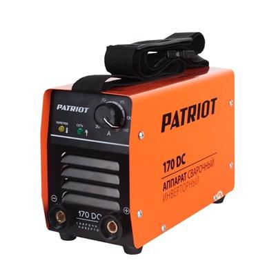 Аппарат сварочный инверторный PATRIOT 170DC MMA - фото 74032