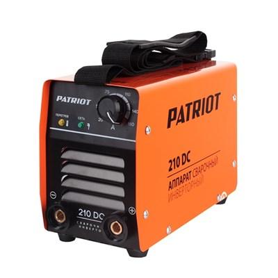 Аппарат сварочный инверторный Patriot 210DC MMA - фото 74039