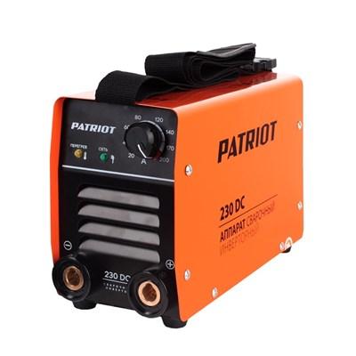 Аппарат сварочный инверторный PATRIOT 230DC MMA - фото 74046