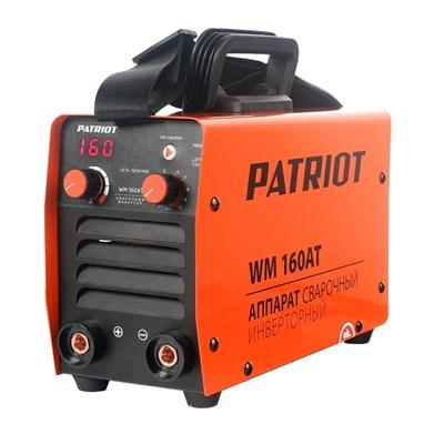 Аппарат сварочный инверторный PATRIOT WM 160AT MMA - фото 74062