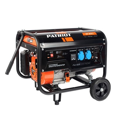 Генератор бензиновый PATRIOT  GP 3810L - фото 75473