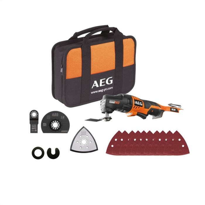 AEG OMNI18C LI-202BKIT1X,  446705 инструмент многофункциональный аккумуляторный - фото 9478