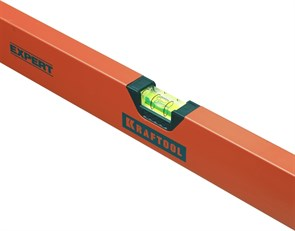 "Уровень коробчатый ""EXPERT"", KRAFTOOL 34710-180, 2 ампулы, 0,5 мм/м, 1800мм"