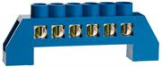 СВЕТОЗАР 6 полюсов, изоляционная оболочка, шина нулевая 49805-06
