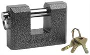 STAYER 90x60x27мм, П-образный металлический корпус, закаленная дужка, замок навесной 37143-90