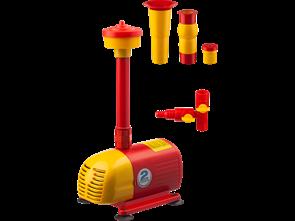 Насос GRINDA фонтанный д/чистой воды, 3 насадки, пропускная способность 2000 л/ч, высота подачи воды 2,5 м, 50 Вт