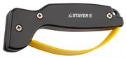 STAYER рабочая часть из карбида, точилка для ножей с защитой 47513