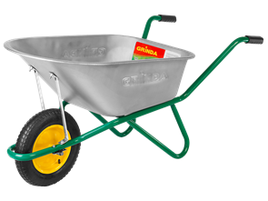 Тачка GRINDA садово-строительная, 90 л, грузоподъемность 160 кг