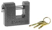 STAYER 70x60x27мм, П-образный металлический корпус, закаленная дужка, замок навесной 37143-70