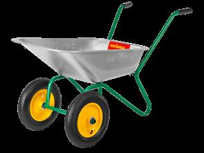 Тачка GRINDA садовая двухколесная, 80 л, грузоподъемность 120 кг