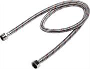 """ЗУБР 1/2"""", 1 м, оплетка из нержавеющей стали, подводка гибкая для воды 51005-G/S-100"""