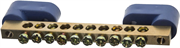 СВЕТОЗАР 10 полюсов, на 2-х угловых изоляторах, шина нулевая 49809-10