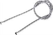 """ЗУБР 1/2"""", 2 м, оплетка из нержавеющей стали, подводка гибкая для воды 51005-G/G-200"""