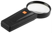 STAYER 3 кратное увеличение, d 75 мм, стекло, лупа с подсветкой 40522-75