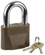 ЗУБР 70х33х53,5мм, дисковый механизм секрета, ключ 7 PIN, замок навесной 3720-1