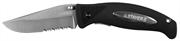 STAYER лезвие 80 мм, обрезиненная ручка, складной нож 47623