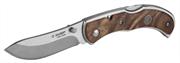 ЗУБР 180 мм/лезвие 75 мм, рукоятка с деревянными накладками, нож складной СКИФ 47712