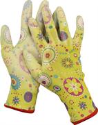 GRINDA M, 13 класс, прозрачное PU покрытие, перчатки садовые 11290-M