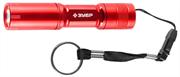 ЗУБР 1 LED, 1хАА, красный, фонарь светодиодный 56220-R