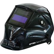 FUBAG 95х36 мм, 9-13 DIN, спец. пластик, маска электросварщика OPTIMA TEAM 9-13 BLACK
