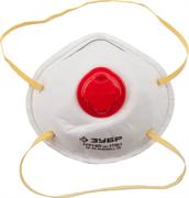 ЗУБР класс защиты FFP1, коническая, клапан, полумаска фильтрующая 11161