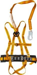 ППДаА лямочный пояс, материал стропа - лента, с наплечными и набедренными лямками, СИБИН