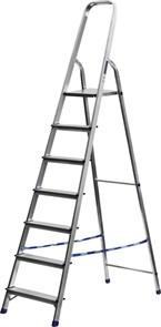 Лестница-стремянка СИБИН алюминиевая, 7 ступеней, 145 см