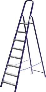 Лестница-стремянка СИБИН стальная, 8 ступеней, 166см
