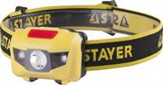 STAYER 1 Вт, 3хAAA, налобный, фонарь налобный 56568