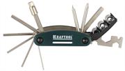 KRAFTOOL 16-в-1, набор для обслуживания велосипеда 26182-H16 EXPERT