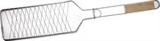 GRINDA 620х120 мм, одинарная, нержавеющая, решетка-гриль для рыбы BARBECUE 424731