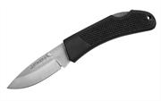 STAYER 75 мм, 2,35 мм, обрезиненная ручка, складной нож 47600-1_z01