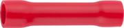 СВЕТОЗАР 0.5-1.5 мм, красный, 10 шт., гильза соединительная 49450-15
