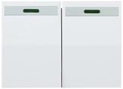 """СВЕТОЗАР двухклавишный, без вставки и рамки, выключатель """"ЭФФЕКТ"""" SV-54435-W"""