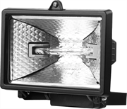 STAYER 150 Вт, MAXLight, с дугой крепления под установку, черный, прожектор галогенный 57101-B