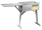 KRAFTOOL 300 x 600 x 800 мм, толщина 2 мм, нержавеющая сталь, мангал с автоматическим вращением шампурами 68310