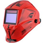 FUBAG 100х65 мм, 4-8/9-13 DIN, спец. пластик, маска электросварщика OPTIMA 4-13 Visor Red