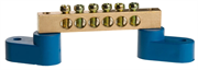 СВЕТОЗАР 6 полюсов, на 2-х угловых изоляторах, шина нулевая 49809-06