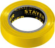 STAYER 15 мм х 10 м, не поддерживает горение, изоляционная лента пвх  Protect-10 12291-Y