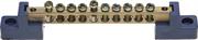 СВЕТОЗАР 10 полюсов, на 2-х угловых изоляторах, шина нулевая 49808-10
