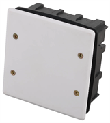 СВЕТОЗАР подштукатурный монтаж, прямоугольная, с крышкой, 400В, 20 IP, коробка установочная SV-54927