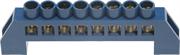 СВЕТОЗАР 8 полюсов, изоляционная оболочка, шина нулевая 49805-08
