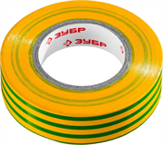 ЗУБР 15 мм х 20 м, изоляционная лента пвх электрик-20 1234-6_z02 Профессионал