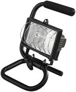 СВЕТОЗАР 150 Вт, переносной с подставкой, цвет черный, прожектор галогенный SV-57121-B