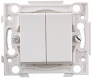 {{photo.Alt || photo.Description || 'СВЕТОЗАР белый, двойной, выключатель SV-55231-2'}}