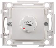 СВЕТОЗАР белый, с реостатом, выключатель SV-55233