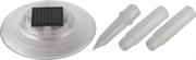 GRINDA Ni-Cd, 1,2 В, 600 мА*ч, белый, подсветка фонтанов и водоемов на солнечных батареях со штырем 8-43631