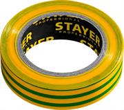 STAYER 15 мм х 10 м, не поддерживает горение, изоляционная лента пвх  Protect-10 12291-S